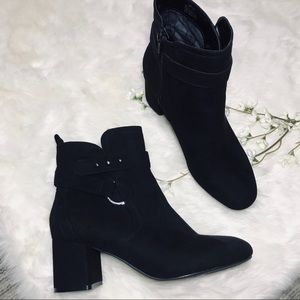Kelly & Katie Thelima black booties